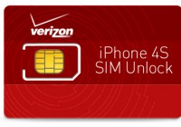 Verizon iPhone 4S SIM Unlock [How-To]