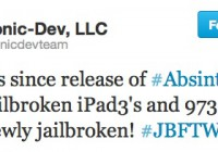 More Than a Million iDevices Jailbroken With the Absinthe 2.0