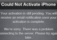 Could Not Activate iPhone [Fix Instruction]