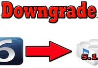 Use iOS 5.1.1 SHSH Blobs To Downgrade iOS 6