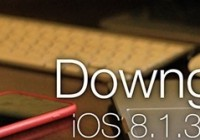 To Save Jailbreak Downgrade iOS 8.1.3 To 8.1.2 On iPhone