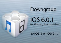 How to Downgrade iOS 6.0.1 to iOS 6 and iOS 5.1.1 Using Redsn0w