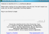 Jailbreak Updated iOS 5.1.1(9B208) on iPhone 4 GSM Using Absinthe 2.0.2 | Download