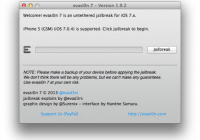 Links for Downloading Evasi0n7 1.0.2 with iPad 2 Jailbreak Fix
