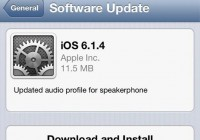 Apple Has Released iOS 6.1.4 and It's Ready for Download