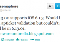 Get TinyUmbrella 6.13.00 To Save SHSH Blobs for iOS 6.1.3