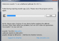 How to Jailbreak iOS 7 Devices Untethered Using Evasi0n 7