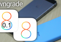 Follow The Instruction On How To Downgrade iOS 8.0.1