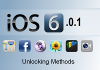 How to Unlock iOS 6.0.1 on iPhone 5, 4s, 4, 3gs [Overview]