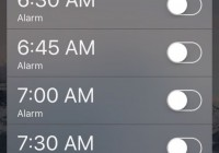 Fun Cydia Widgeets for iOS 9: Set Alarm From Anywhere on iPhone