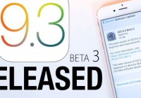 iOS 9.3 Beta 3 Update Seeded by Apple to iPhone, iPad