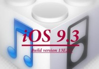 iOS 9.3 Build 13e237 Update with Fix to Activation Lock Bug iPhone iPad
