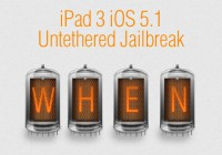iPad 3 iOS 5.1 Untethered Jailbreak Update