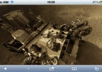 Explore Mars on iPhone Using Images From Curiosity Rover