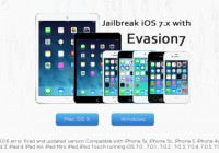 iOS 7.0.6 Untethered Jailbreak for iPod touch, iPhone and iPad