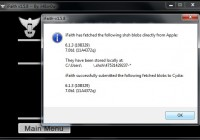 Use iFaith 1.5.8 to Get and Save iOS 7 beta 1 SHSH blobs