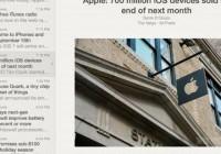 iOS News-Reading Program Reeder 2 Updated with Tweaks