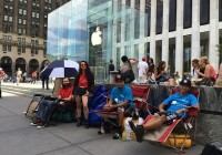 Users Are Already Lining Up at 5th Avenue Store for Apple iPhone 6