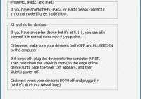Use Redsn0w 0.9.15b1 to Jailbreak iOS 6 Tethered With Cydia
