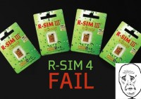 R-SIM IV Can't Unlock iPhone 4 Baseband 4.11.08 and 4.12.01 Anymore