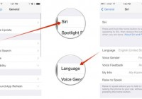 Change Siri Language on iPhone 5 and Other iDevices