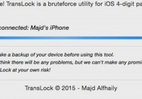iPhone Passcode Software Bypass Solution for Mac Users [iOS 8]