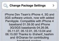 Unlock iPhone 3GS iOS 6.1.3 baseband 05.16.08 Using Redsn0w and Ultrasn0w