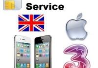 Unlock iPhone 3 Three Hutchinson UK with IMEI [Instruction]
