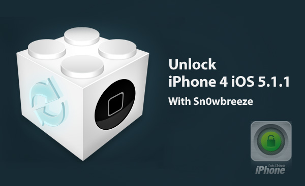 unlock iPhone 4 iOS 5.1.1