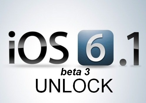 unlock ios 6.1 beta 3