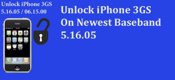 unlock iphone 3GS iOS 5.1 on 05.16.05