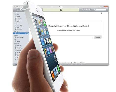 unlock iphone 5 at&t