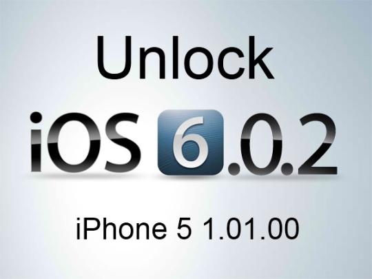 unlock iphone 5 ios 6.0.2 1.01.00