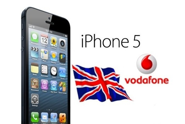 How to Unlock iPhone 5 Vodafone UK