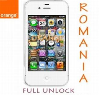 Unlock iPhone Orange Romania