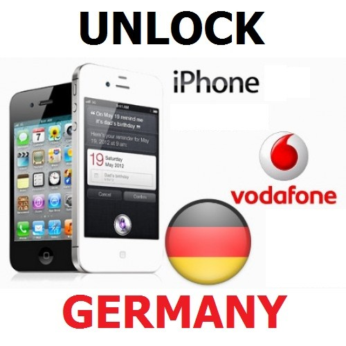 How to Unlock iPhone Vodafone Germany