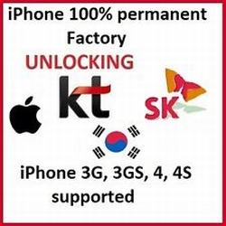 Unlock KT Freetel & SK iPhone Korea