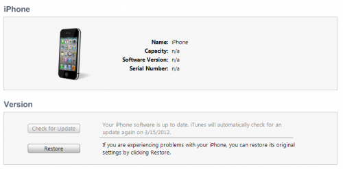 update iPhone to iOS 5.1 preserving old baseband