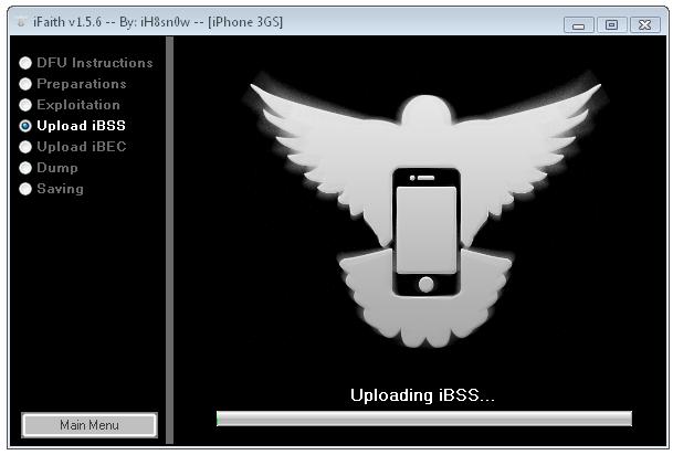 uploading iBSS