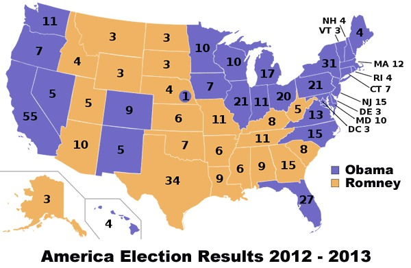us election results 2012 on iphone