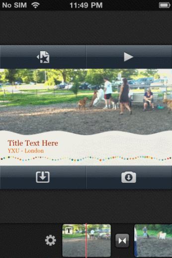 use imovie on iphone 4