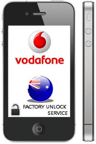 iPhone Unlock from Vodafone Australia: Full Life Time Solution!